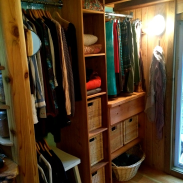 Closet storage, very important
